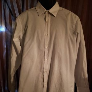 Mens NWOT collared button up shirt